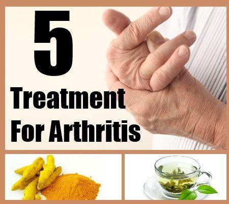 Top 5 Arthritis Treatments