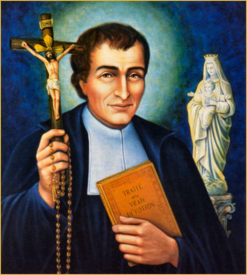 ST. LOUIS DE MONTFORT LITANY | True devotion to mary, St louis de montfort,  Catholic saints