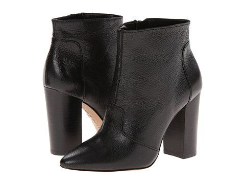 Nine West Hyra Black Leather - 6pm.com