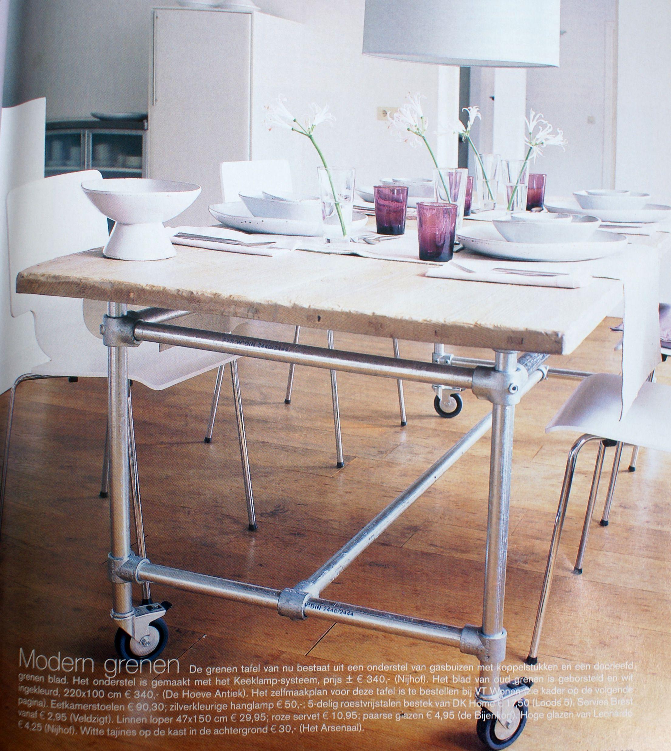 Diy Tables Pipe Diy Pipe Tables Tables Pipe Kitchens