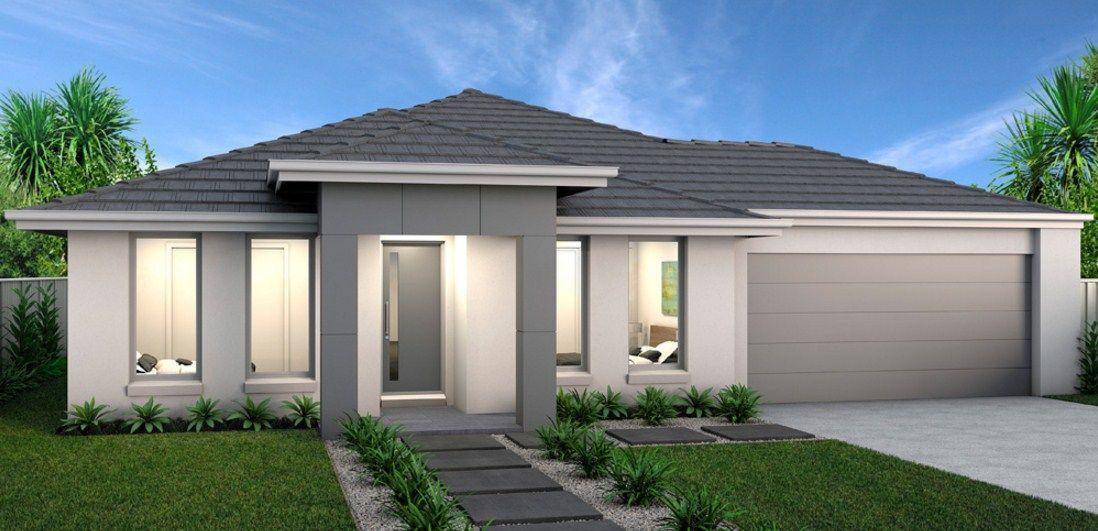 Resultado de imagen para frentes de casas modernas de una planta casas fachadas pinterest - Casas modernas una planta ...
