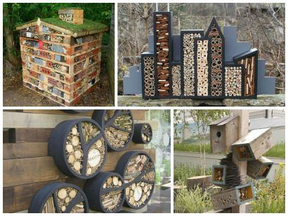 11 inspirations for insect hotels