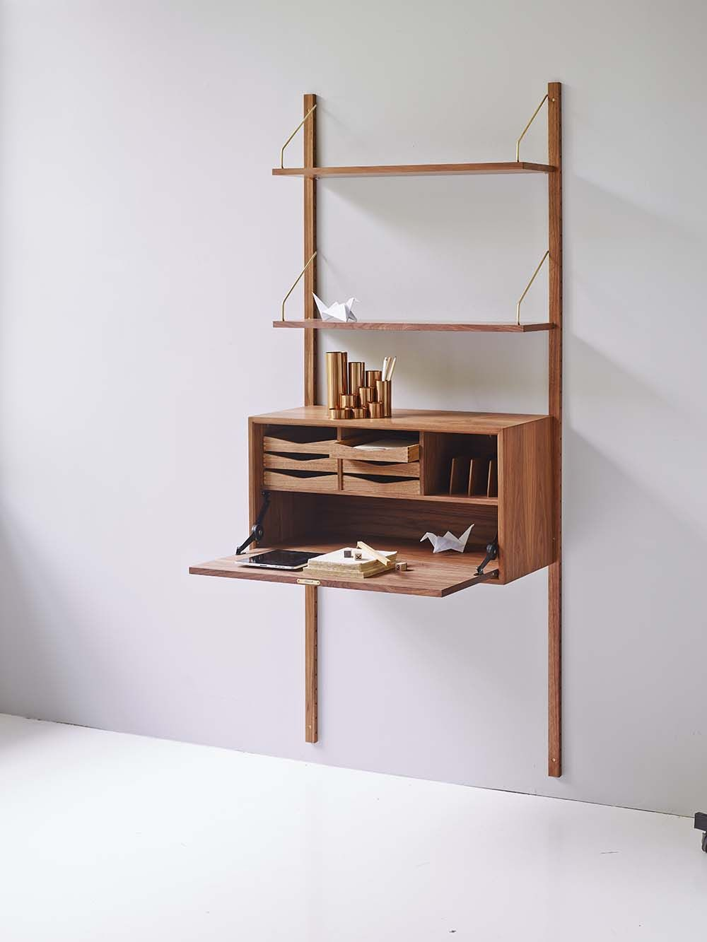 Cadovius butterfly shelf   designed in 1958 by legendary danish ...