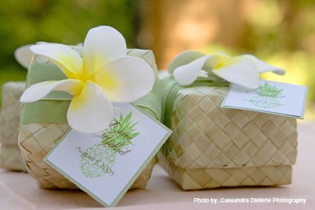 Eco Friendly Market Hawaiian Weddings Lauhala Boxes Hawaiian