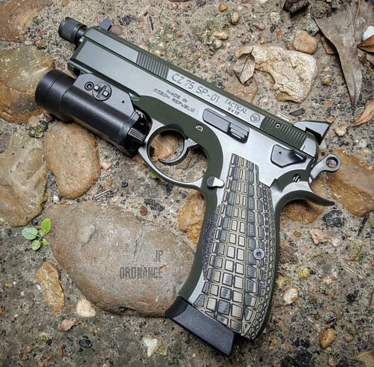Pin by rae industries on CZ 75 SP-01 | Hand guns, Weapons