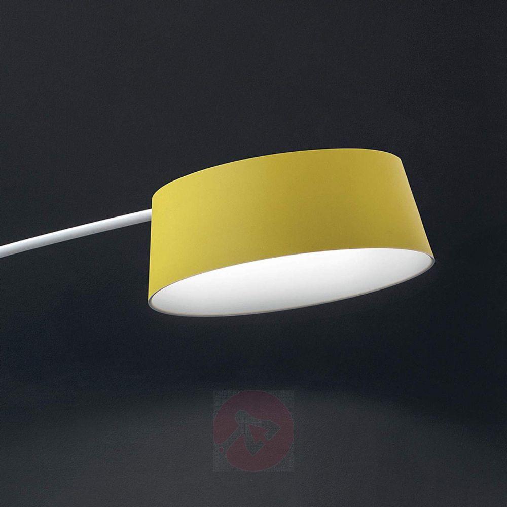 Farbenfrohe Led Bogenlampe Oxygen Fl1 Verstellbar Lampenwelt At Bogenlampe Led Led Hangeleuchte