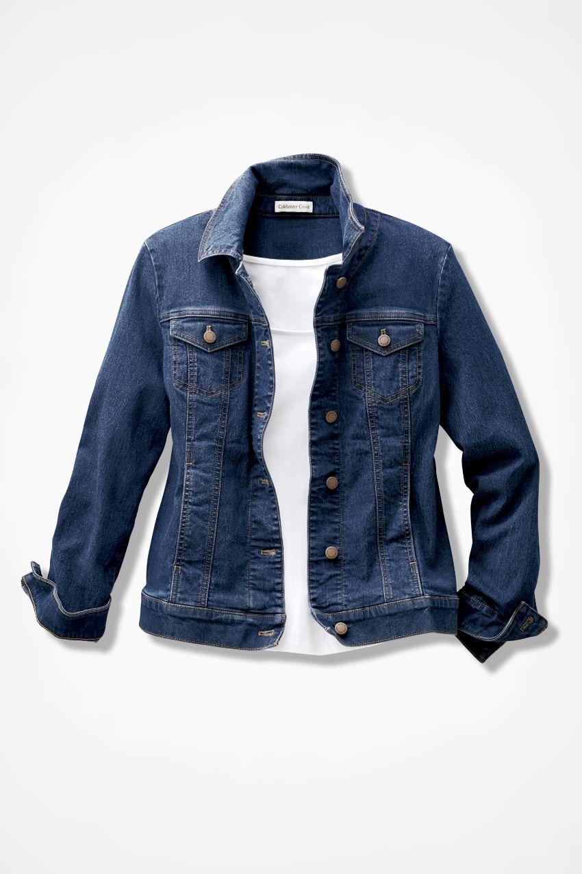 f84b9ae2b72 Denim Jacket - Women's Jackets | Coldwater Creek. Women's Jackets - Stacha  Styles ...