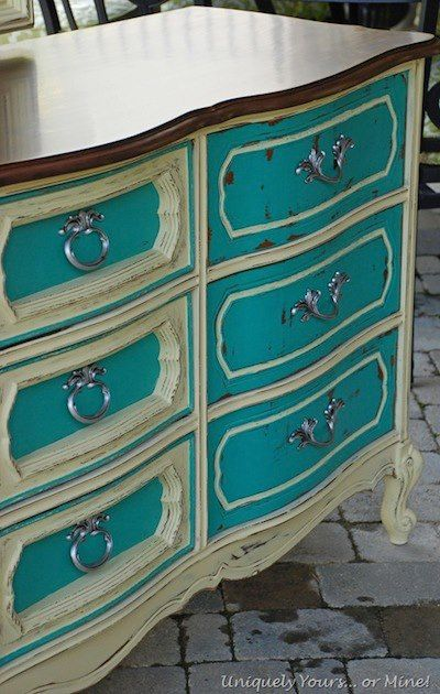 Susan of Uniquely Yours or Mine shares her story of turning some - Used Bedroom Sets