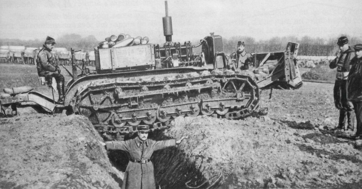 The Schneider Ca1 Was The First Operational Tank Ever A First In