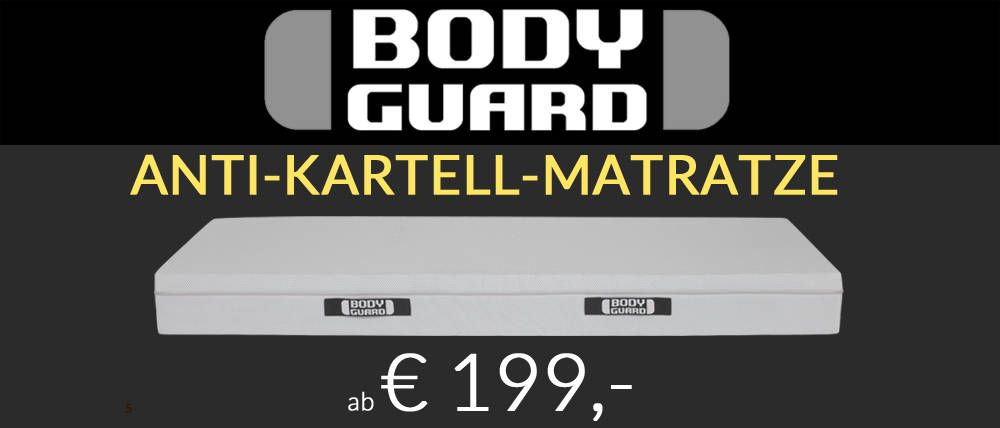 Die Fachberater Matratze Bodyguard Matratze Bett Matratze