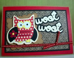 Woot Woot! Wild Card Wednesday with an Owl and Kitty!