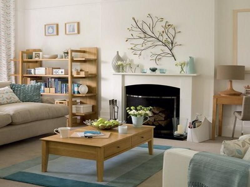 20 living room with fireplace that will warm you all winter - Decorating Ideas For Living Room With Fireplace