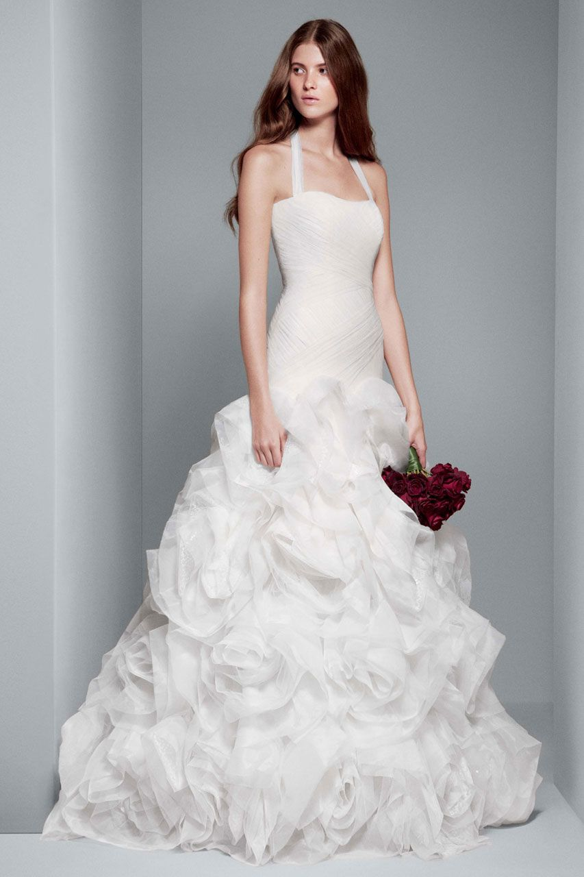 White by Vera Wang Wedding Dresses | Vera wang, Vestidos de novia y ...