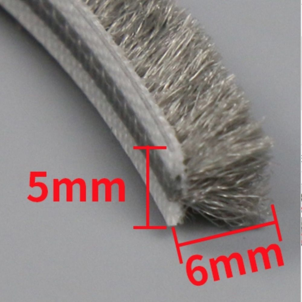 Felt Draught Excluder Wool Pile Weatherstrip Waterproof Hydro Pro Gray Black 10m 5mm X 6mm Sliding Sash Window Sash Windows Weather Stripping Windows And Doors