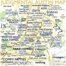 Judgmental austin neighborhood map - Google Search | Austin Texas ...