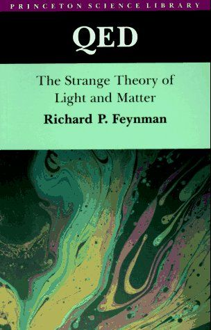 QED: The Strange Theory of Light and Matter by Richard P. Feynman http://www.amazon.com/dp/0691024170/ref=cm_sw_r_pi_dp_0J-6tb1G04YME
