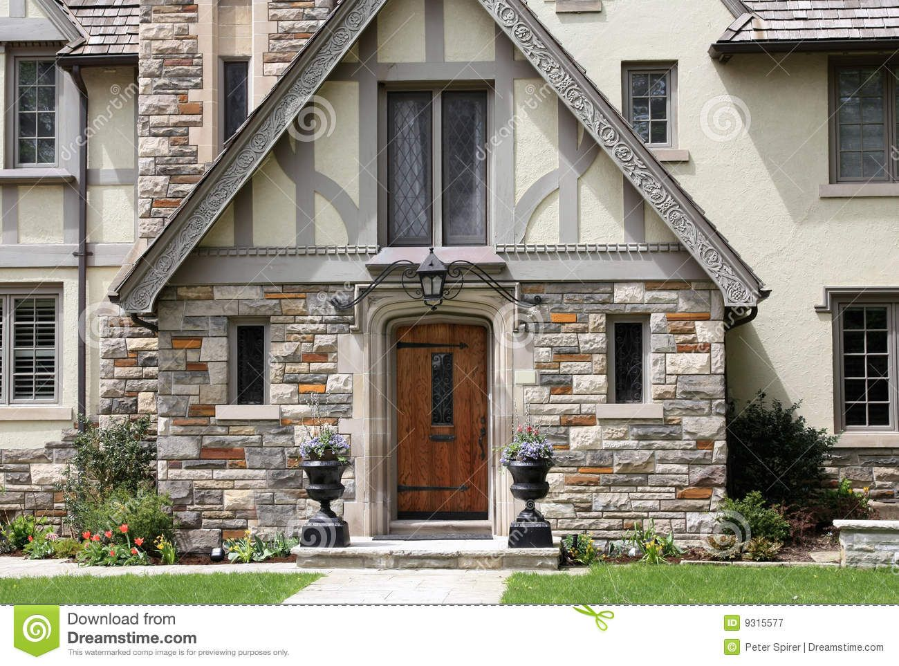 Tudor Style House Entrance - Download From Over 41 Million High Quality  Stock Photos, Images