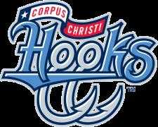 Corpus Christi Hooks, (Corpus Christi, Texas), Stadium: Whataburger Field #CorpusChristiHooks #TexasLeague #CorpusChristiTexas (L4858)