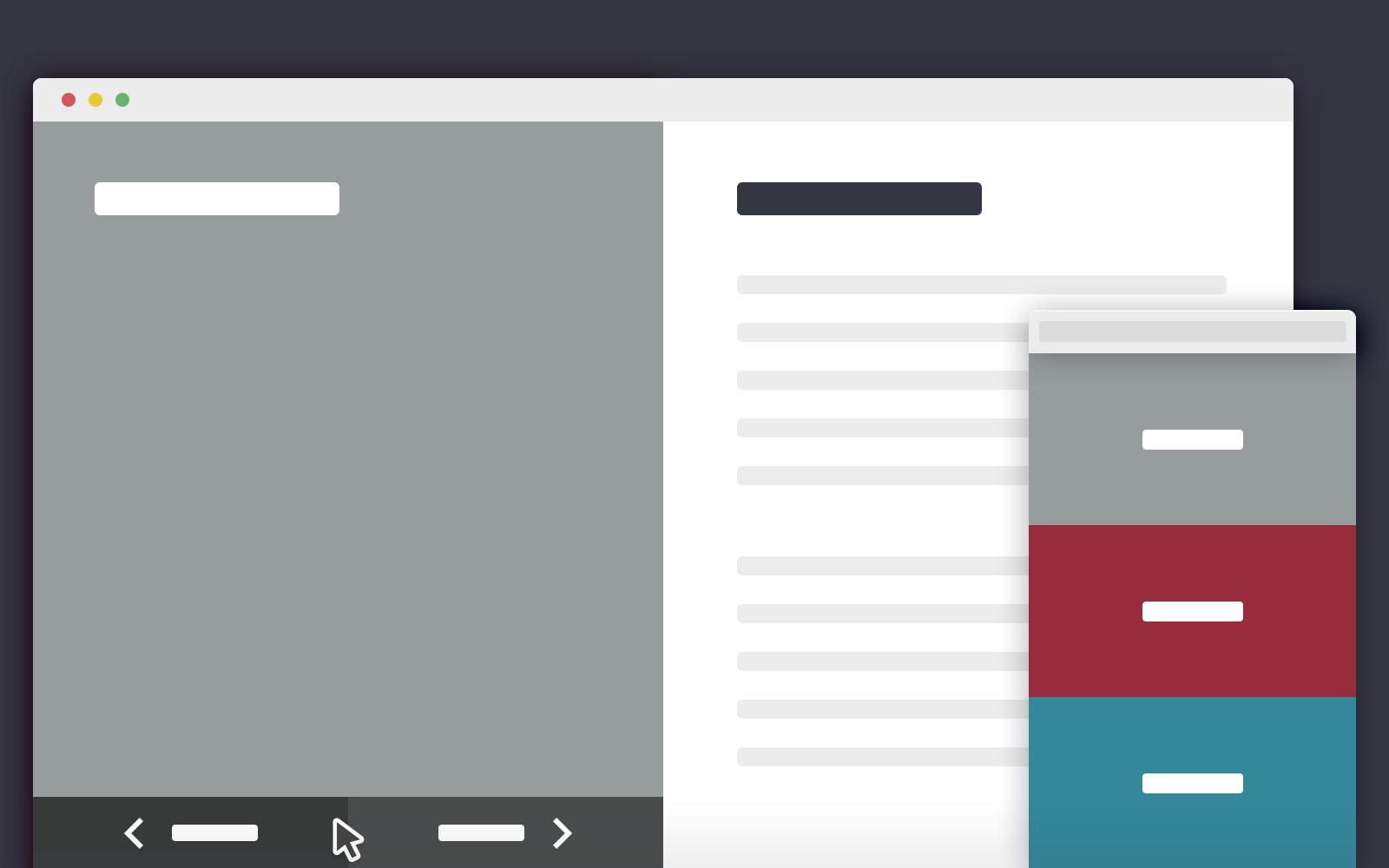 2-blocks-template | HTML: Open Source | Pinterest | Template, Web ...