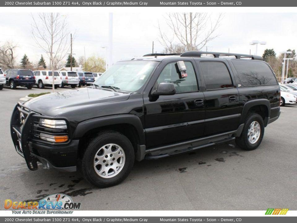 2002 Suburban 2002 Chevrolet Suburban 1500 Z71 4x4 Onyx