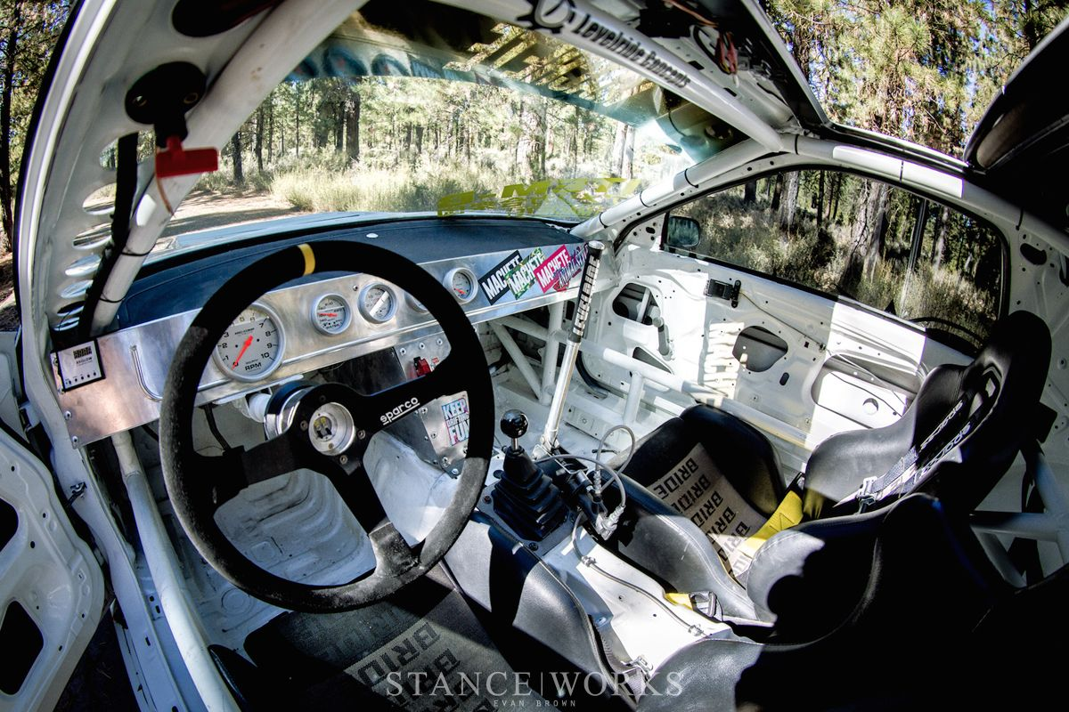 Stripped Interior Race Car Rx7 Mazda Whip 215 Misc
