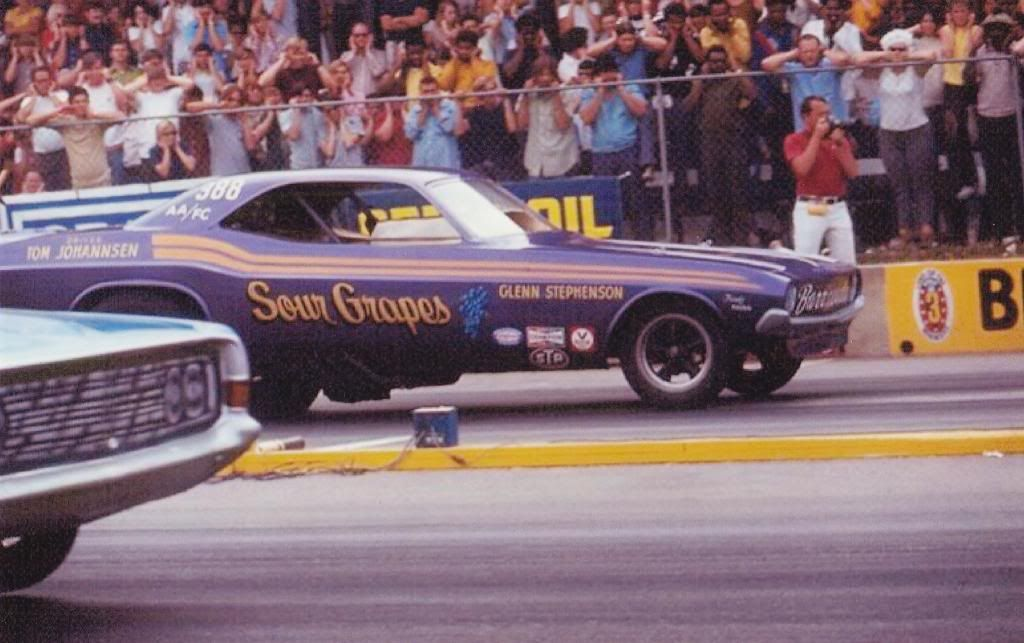 Sour Grapes vintage funny car. I remember this thing well. It used ...