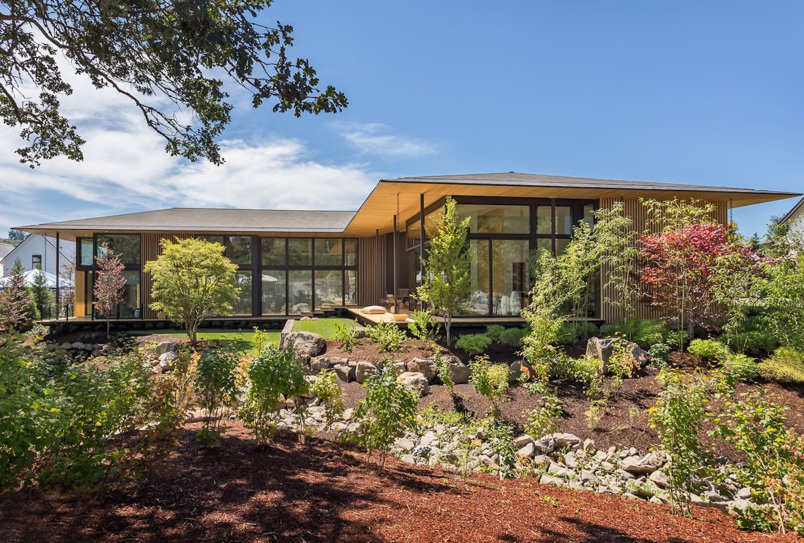 Kengo Kuma Just Unveiled His First U S Home In Portland Oregon