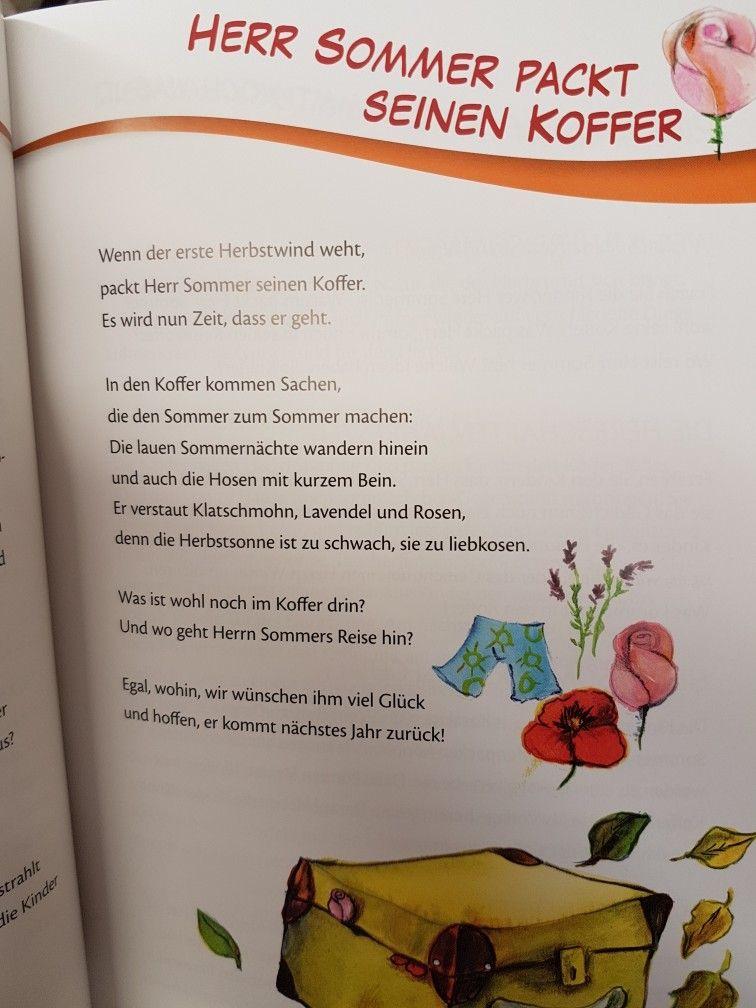 herr sommer packt seinen koffer herbst kita ForAngebote Kindergarten Herbst