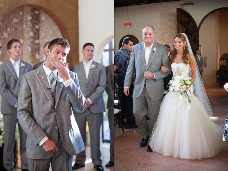 Tears Bride Grooms Dress