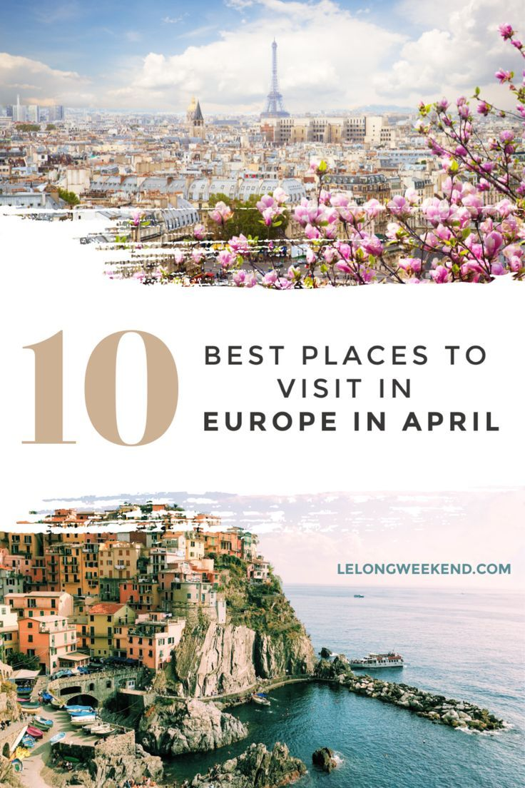 Discover the best places to visit in Europe in April. From Easter celebrations, to beautiful spring blossoms, these European cities have it all! #spring #europe #April #easter