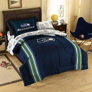 Northwest Co Nfl Seattle Seahawks Bed In Bag Set Bedroom