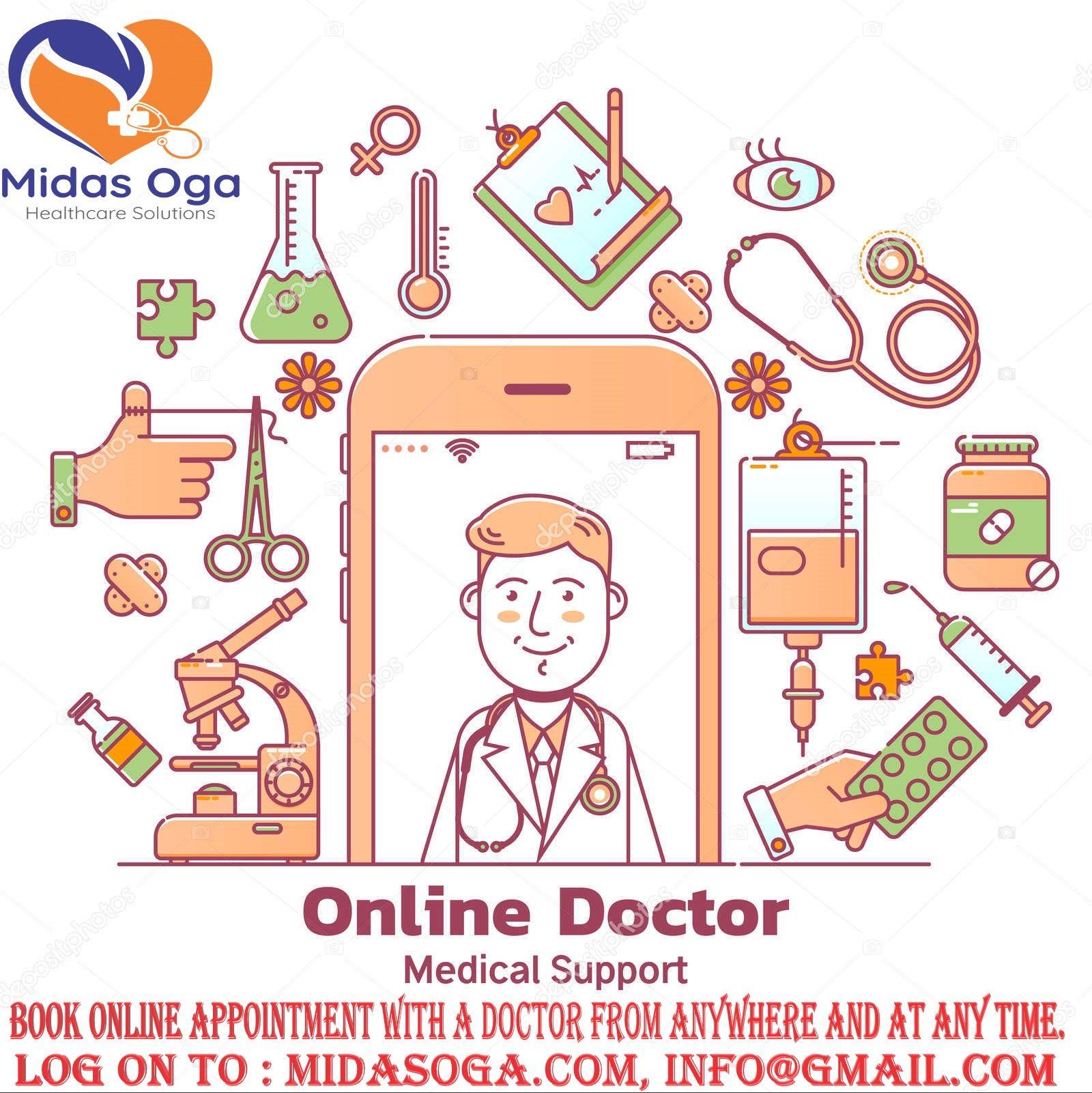 midas oga best telemedicine company in india . midas oga