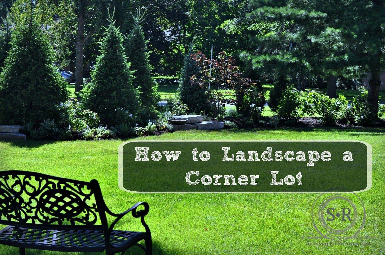 Garden landscape trees  Gardening  Landscaping Ideas for a Corner Lot  Serendipity
