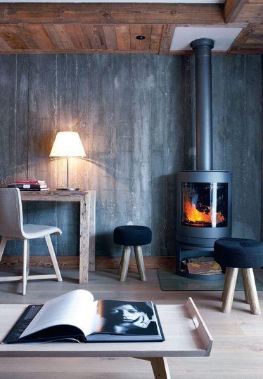 Deco Montagne 12 Photos De Chalets Et Appartements Decoration Interieure Idee De Decoration Style Design Interieur