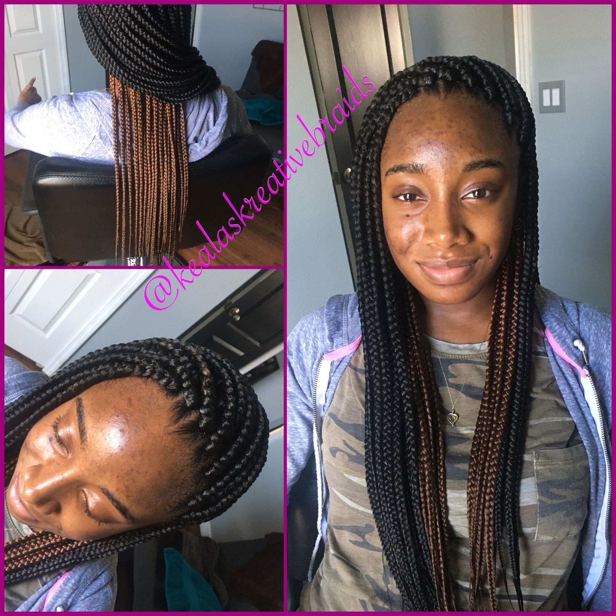 Small Medium Box Braids Poetic Justice Braids Neat