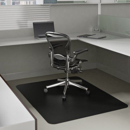 Deflecto 36 inch x 48 inch EconoMat Occasional-Use Chair Mat for Low