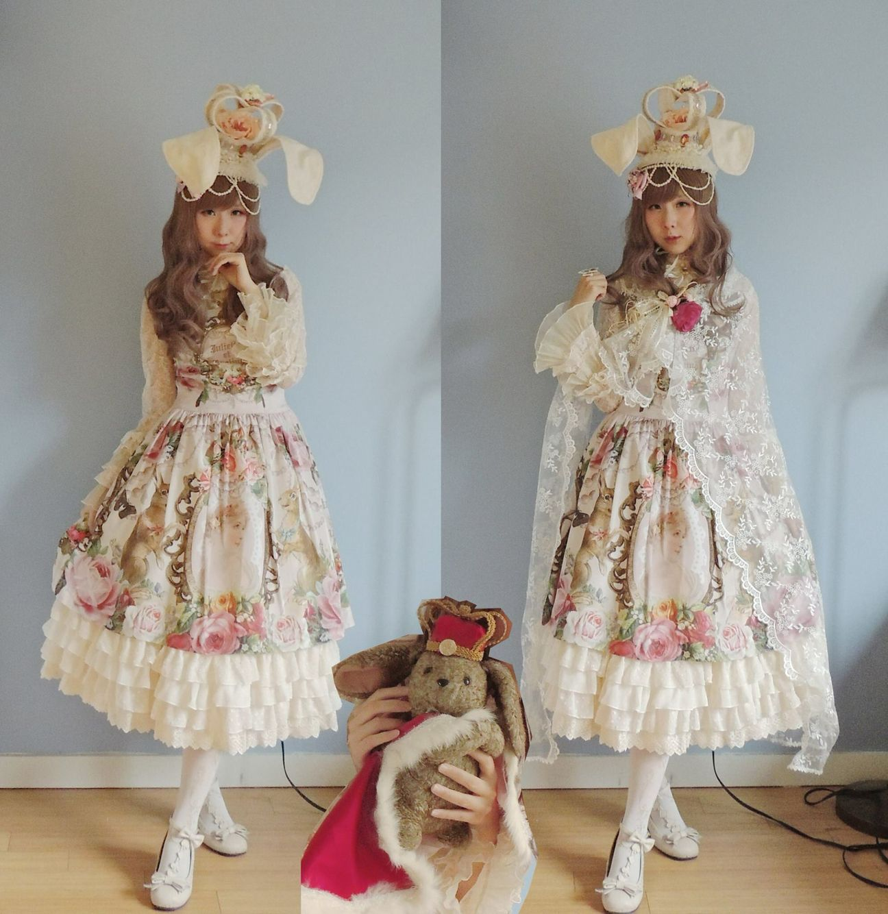 Rabbit Princess coord for ILD by Xiaoyu