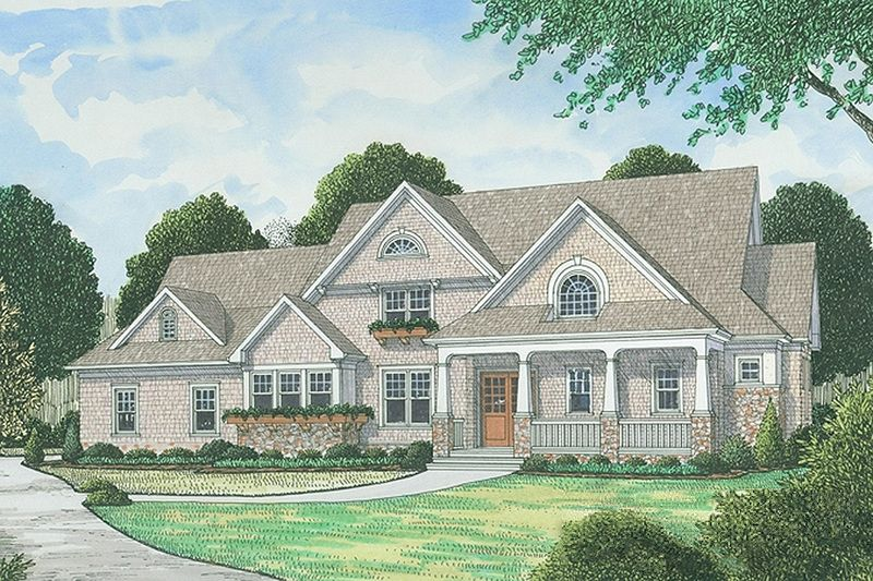 Traditional Style House Plan 488 Beds 48848 Baths 34892 SqFt Plan 48813 Extraordinary 4 Bedroom Cape Cod House Plans Exterior Decoration