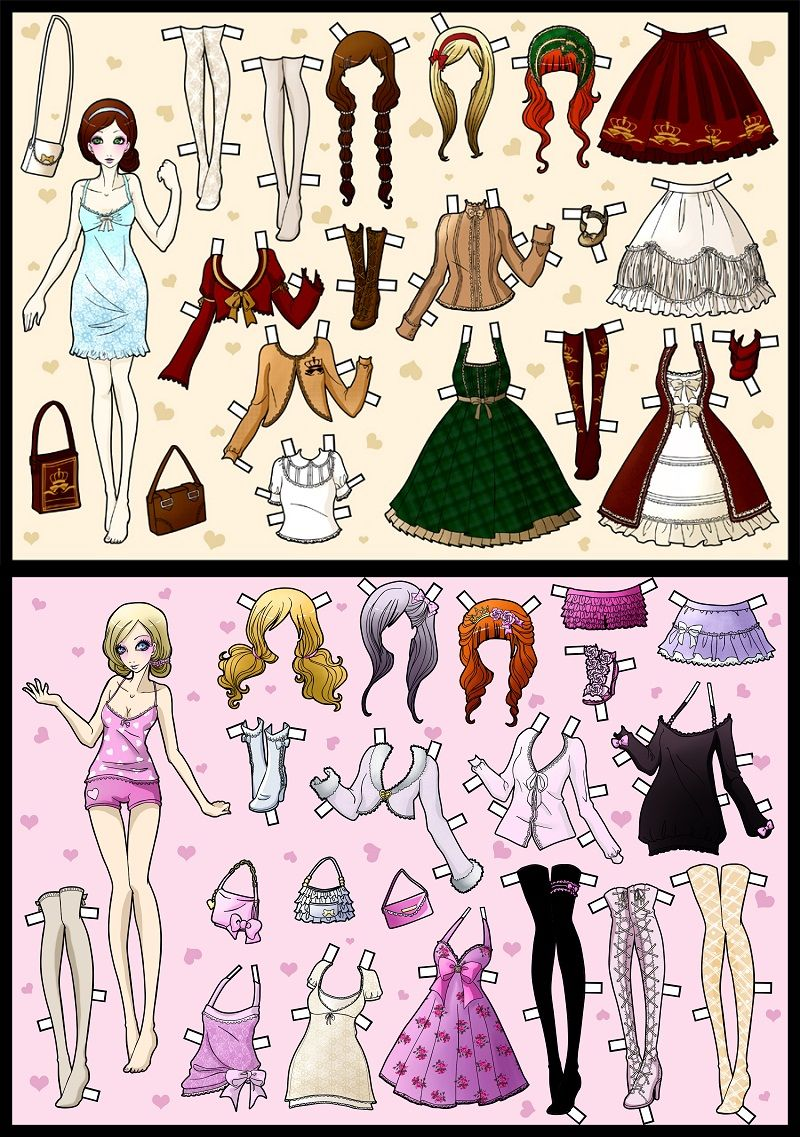 Pin On Passion For Paperdolls 9