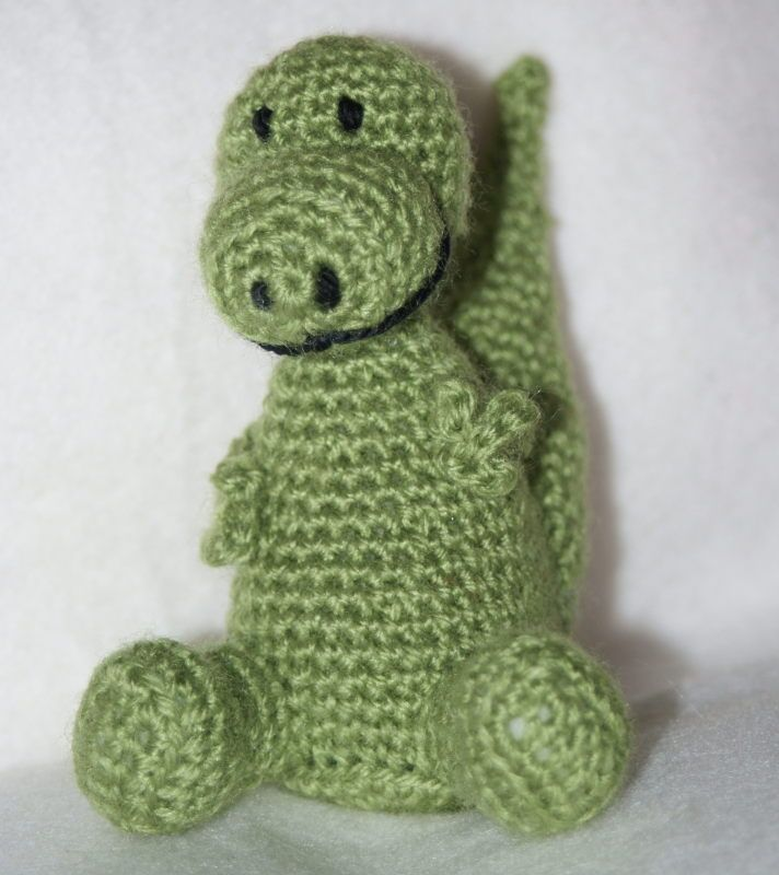 Dinosaur | Dinosaur pattern, Crochet projects, Dinosaur