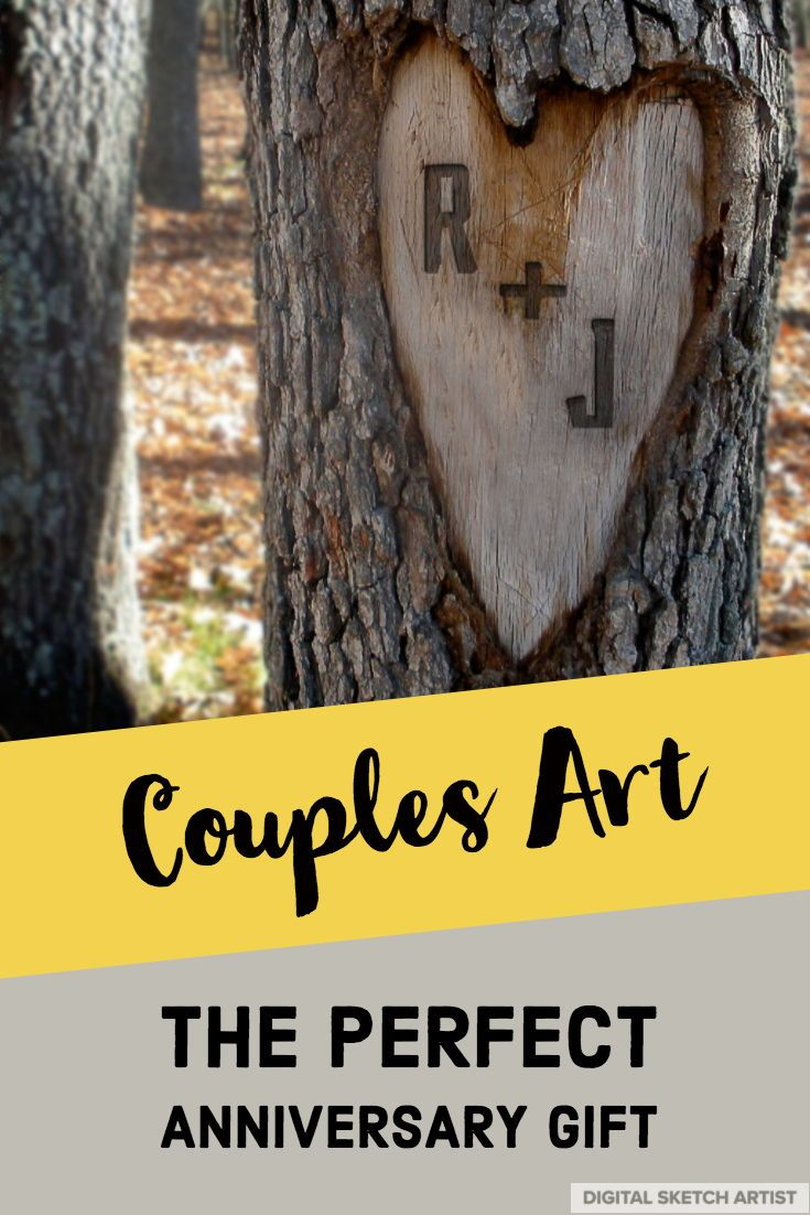 Couples Artwork - 1st Anniversary Gift - Couples Gift - Couples Wall Art