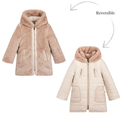 188d43fe451d Chloé - Girls Padded Reversible Coat