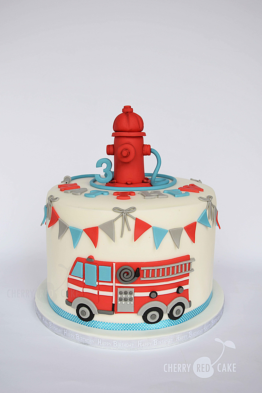 Marvelous Fire Engine Cake Birthday Cake Kids Truck Birthday Cakes Funny Birthday Cards Online Inifofree Goldxyz