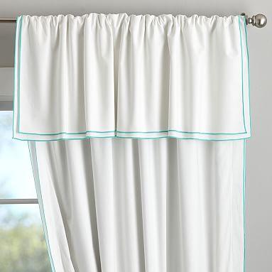 Parker Blackout Curtain 84 Quot White Pool Blackout Drapes