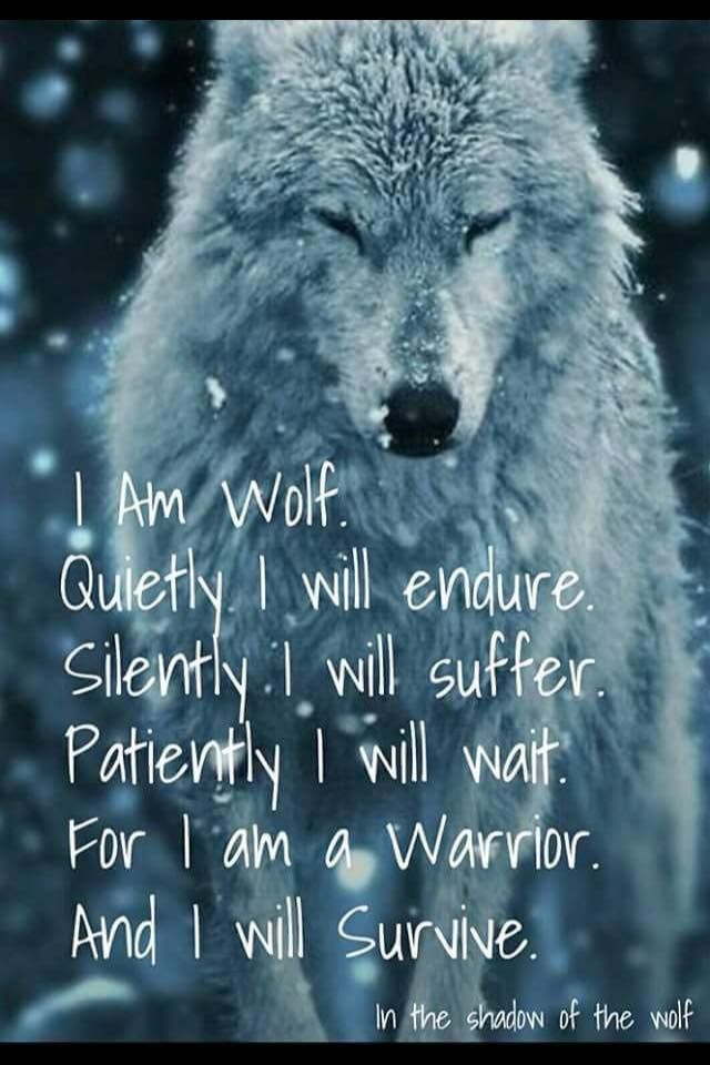 I Am A Woman With The Heart Of A Warrior The Spirit Of A Wolf I