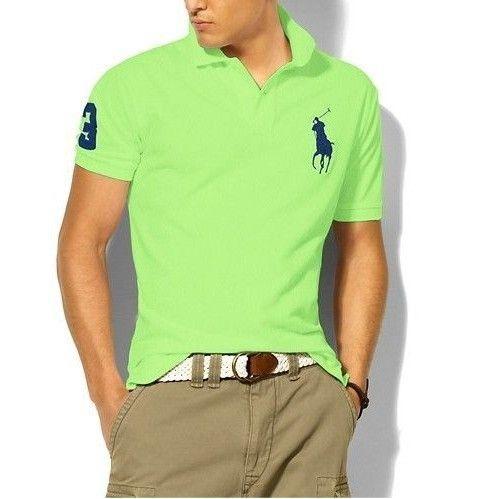 大馬polo衫 經典馬球3號男款翻領短袖t恤 果綠
