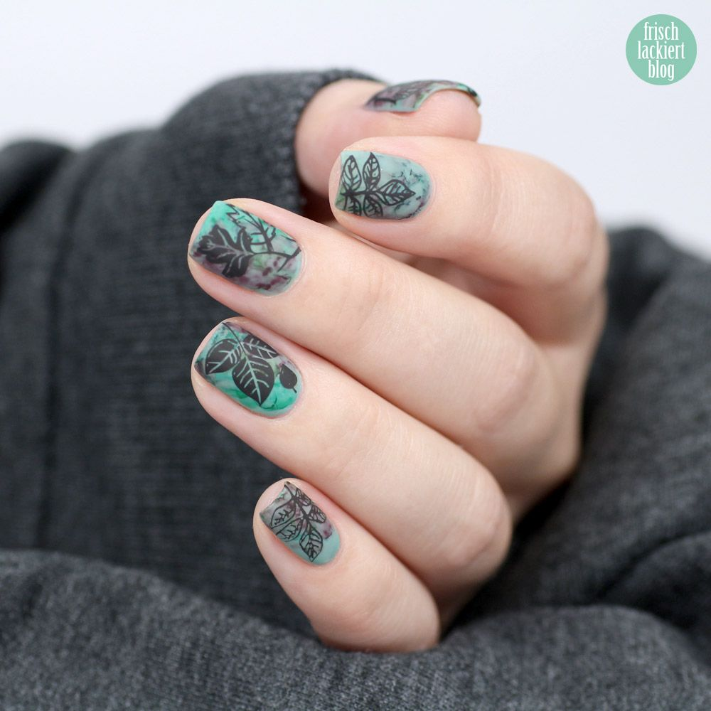 Frischlackiert-Challenge – Aquarell Watercolor Nailart – by ...