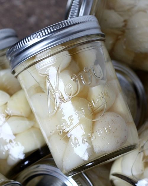 How To Preserve Fresh Garlic - taste fresh for up to 12 months... #homesteading #preserving