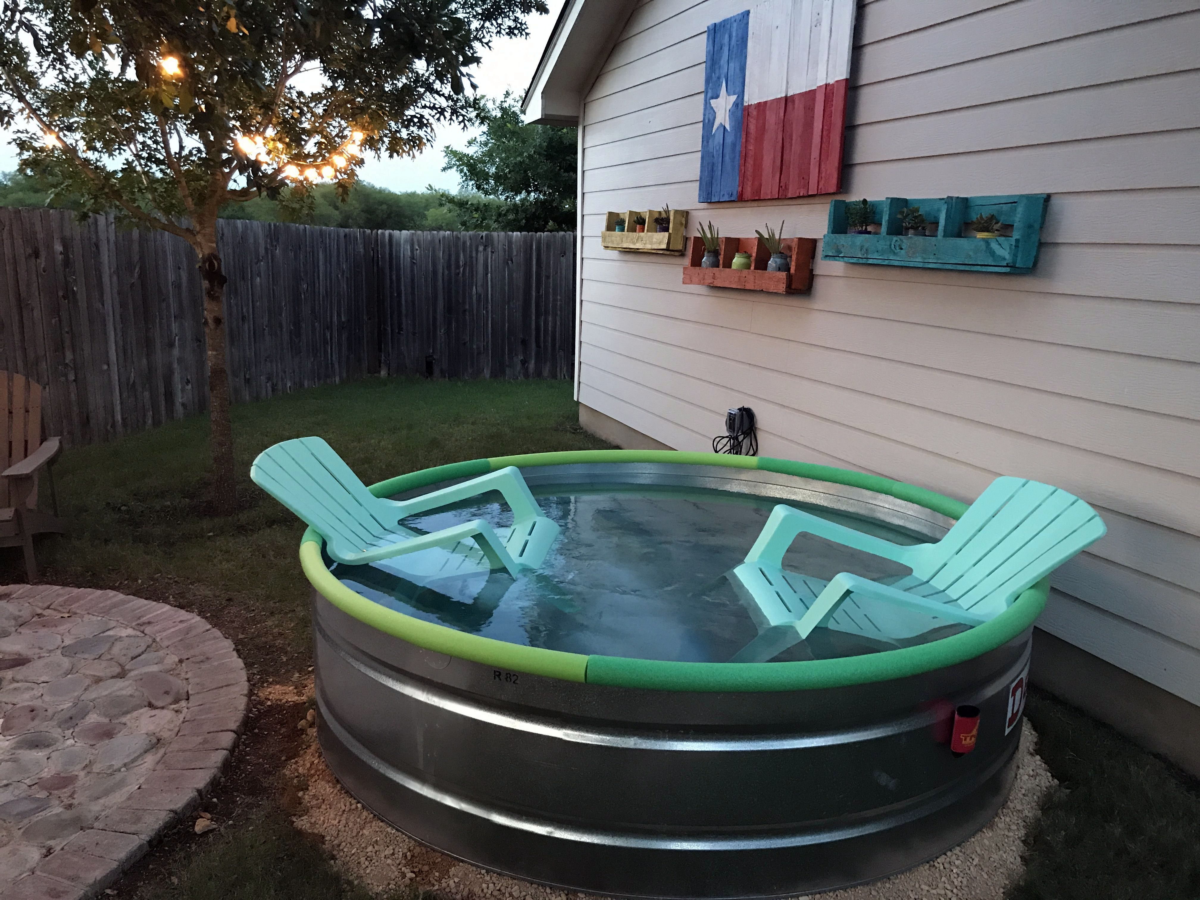 8 Best Stock Tank Pool Ideas For Your Backyard Tank Pool Stock Tank Pool Diy Stock Tank