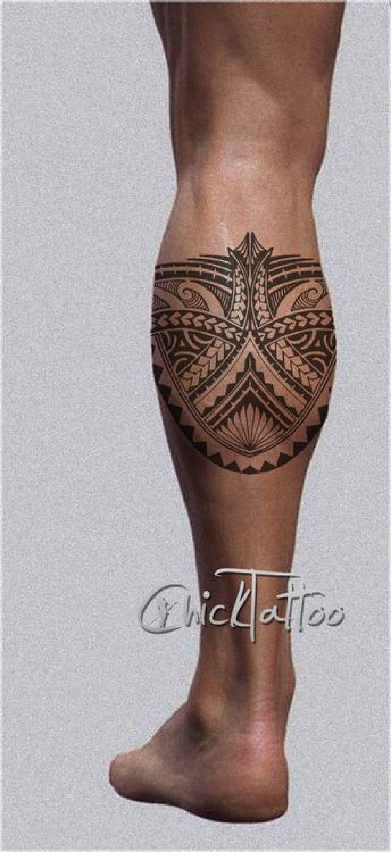 Tatouage Polynesien Jambe Tatouage Pinterest Tatuaje Maori